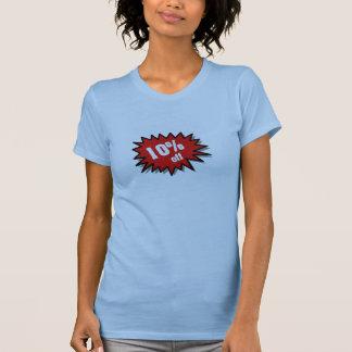 Red 10 Percent Off Shirts