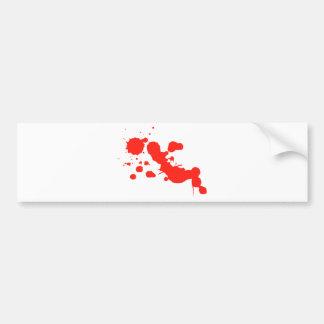 red-1219-cl bumper sticker