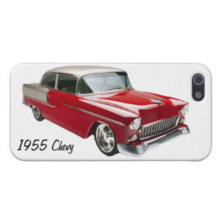 Red 1955 Chevy Antique Chevrolet iPhone 5 5s Case