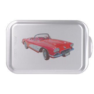 corvette cake pan