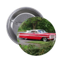 red 1960 impala button