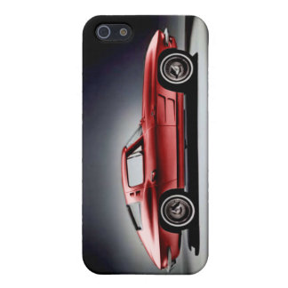 Red 1963 Corvette Sting Ray Case For iPhone SE/5/5s