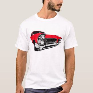 Red 1965 Pontiac Grand Prix T-Shirt