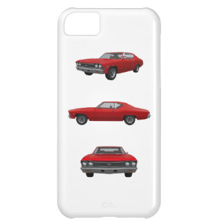 Red 1968 Chevelle SS iPhone 5C Covers