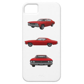 Red 1968 Chevelle SS iPhone 5 Cases