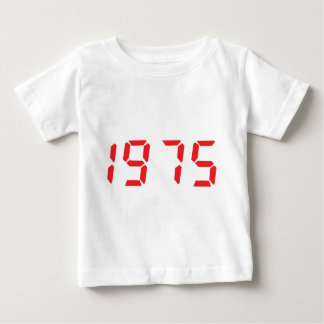 red 1975 icon baby T-Shirt