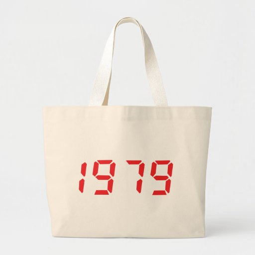 red 1979 icon canvas bag