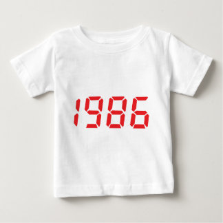 red 1986 icon t shirt