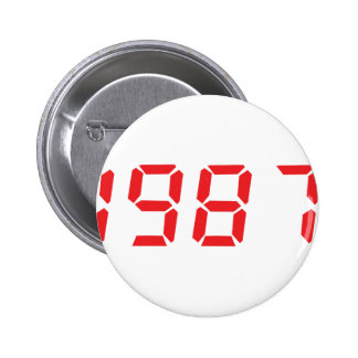 red 1987 icon button