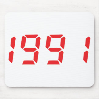 red 1991icon mouse pad