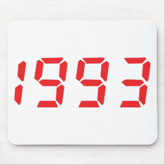 red 1993 icon mouse pad