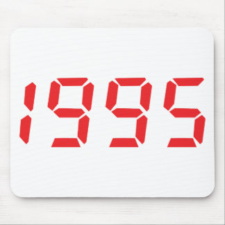 red 1995 icon mouse pad