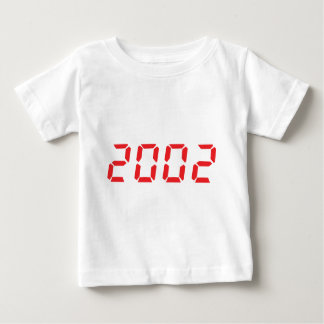 red 2002 icon tee shirt