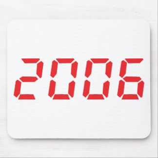 red 2006 icon mouse pad
