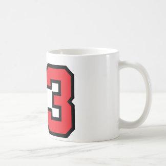 Red 23 coffee mug
