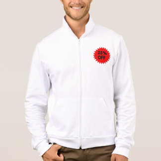 Red 25 Percent Off Jackets
