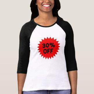 Red 30 Percent Off Shirt