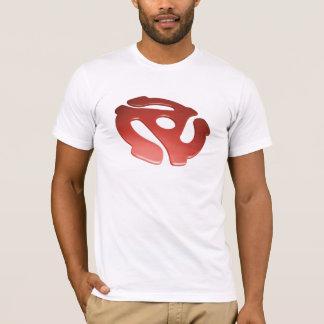 Red 3D 45 RPM Adapter T-Shirt