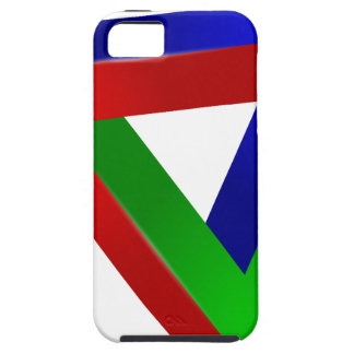 red-41230 OPTICAL ILLUSIONS TRIANGLE SHAPES TWISTE iPhone 5 Cases