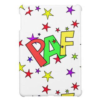 red-41991 CARTOON COMIC STARS PAF WORDS SHOUTOUTS iPad Mini Covers