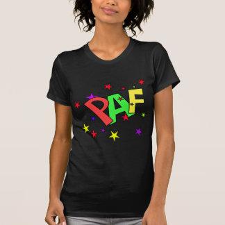 red-41991 CARTOON COMIC STARS PAF WORDS SHOUTOUTS Shirt
