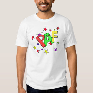 red-41991 CARTOON COMIC STARS PAF WORDS SHOUTOUTS Shirts
