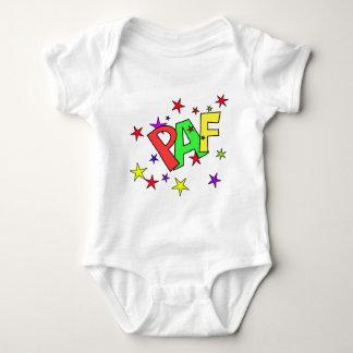 red-41991 CARTOON COMIC STARS PAF WORDS SHOUTOUTS T-shirts