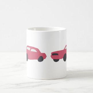 Red '65 Mustang on cup. Coffee Mug