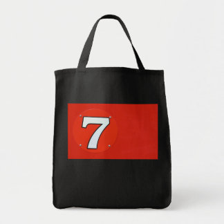 Red 7 Flag Tote Bag