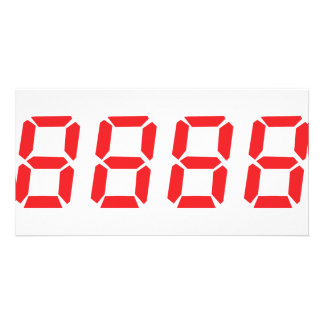 red 8888 icon card
