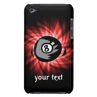 Red 8 ball iPod touch case