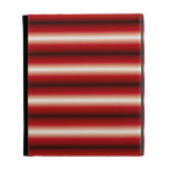 red a black line Pattern iPad Folio Covers