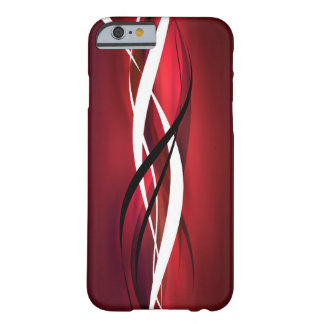 Red Abstract Barely There iPhone 6 Case