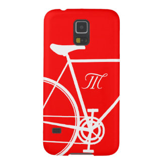 Red Abstract Bicycle Case For Galaxy S5