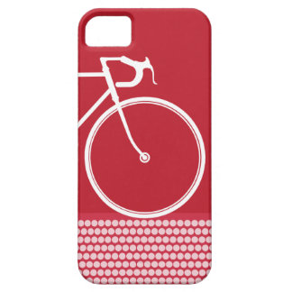 Red Abstract Bicycle iPhone 5 Case
