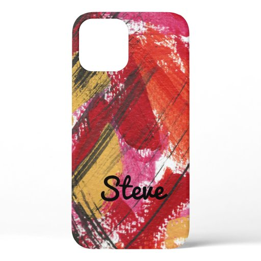 Red Abstract Bold Graphic Personalized Case-Mate i