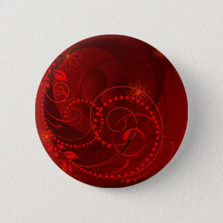 red abstract button