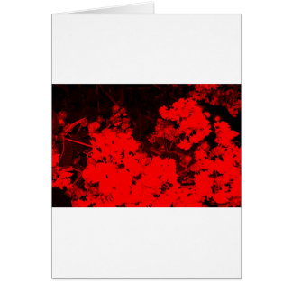 Red Abstract Card