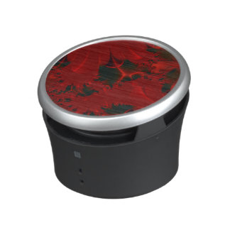 Red Abstract Classy Bluetooth Speaker
