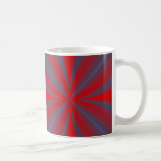 Red Abstract Coffee Mug