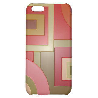 red abstract cover for iPhone 5C