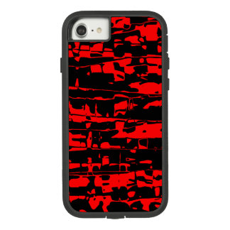 Red Abstract Crackle Case-Mate Tough Extreme iPhone 8/7 Case