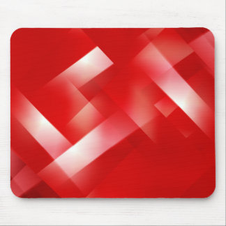 red abstract design mouse pad