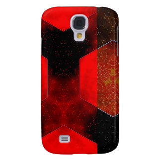 Red Abstract Galaxy S4 Cover