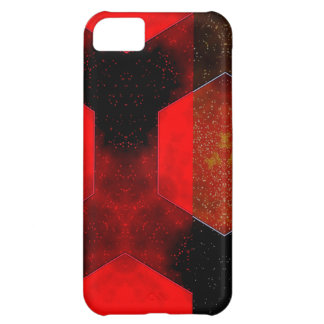 Red Abstract iPhone 5C Covers