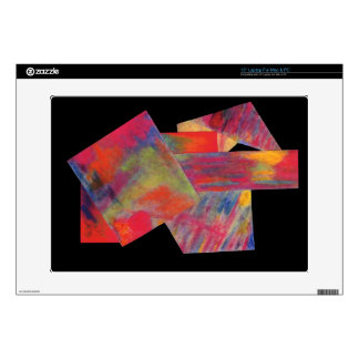 Red Abstract Laptop Skin