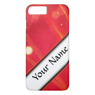 red abstract lights iPhone 8 plus/7 plus case