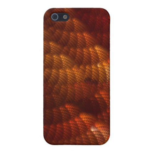 RED ABSTRACT PATTERN iPhone 5 COVERS