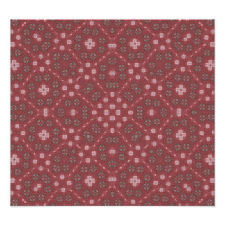 Red Abstract Pattern Photograph