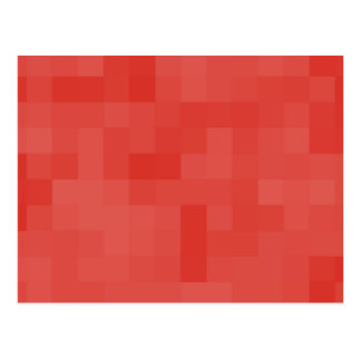 Red Abstract Pattern. Postcard